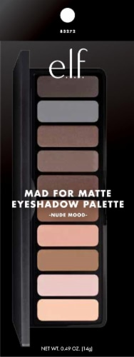 e.l.f. Mad for Matte Nude Mood Eyeshadow Palatte Perspective: front