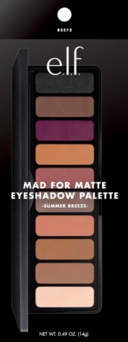 e.l.f. Mad for Matte Summer Breeze Eyeshadow Palatte Perspective: front