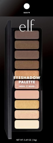 e.l.f. Need It Nude Eyeshadow Palatte Perspective: front