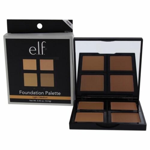"""""e.l.f. Foundation Palette  LightMedium 0.43 oz"""" Perspective: front"