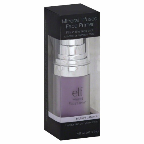 e.l.f. Mineral Infused Brightening Lavender Face Primer Perspective: front