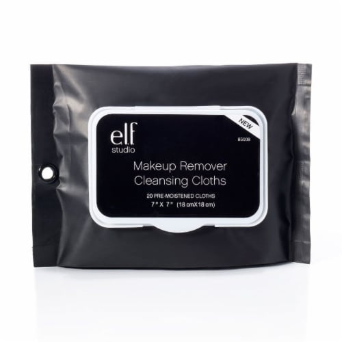 e.l.f. Makeup Remover Cleansing Cloths Perspective: front