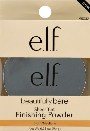 e.l.f. Sheer Tint Light Medium Finishing Powder Perspective: front