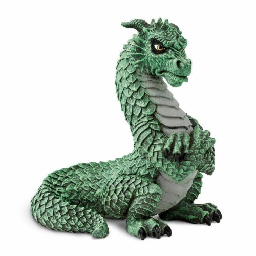 Grumpy Dragon Toy Perspective: front