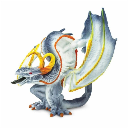 Safari Ltd®  Smoke Dragon Toy Figurines Perspective: front