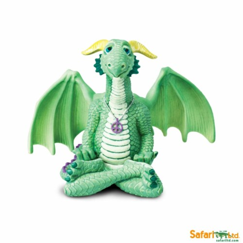Safari Ltd®  Peace Dragon Toy Figurines Perspective: front
