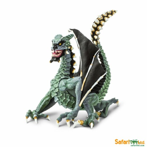 Safari Ltd®  Sinister Dragon Toy Figurines Perspective: front