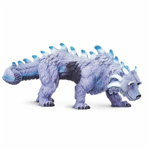 Arctic Dragon Toy Perspective: front