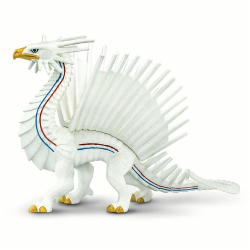Safari Ltd®  Freedom Dragon Toy Figurines Perspective: front