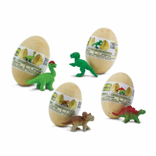 Dino Baby Eggs Set Toy Perspective: front