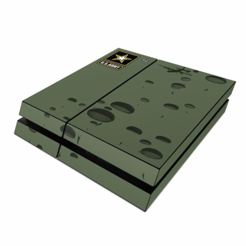 DecalGirl PS4-PTLAN Sony PS4 Skin - Pull The Lanyard Perspective: front