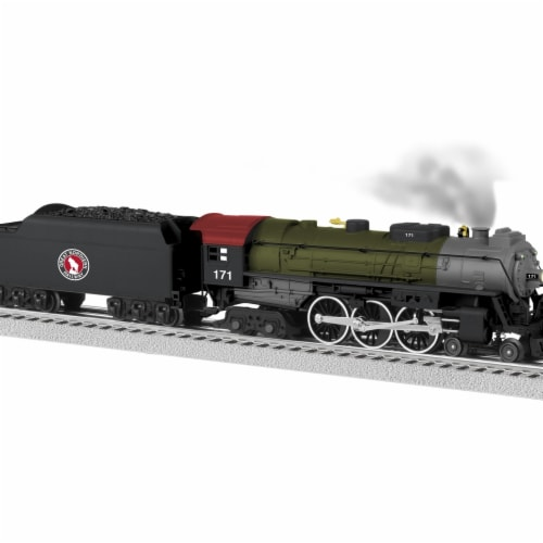 Lionel LNL84937 Great Northern Lionchief Plus Hudson No.171 Perspective: front