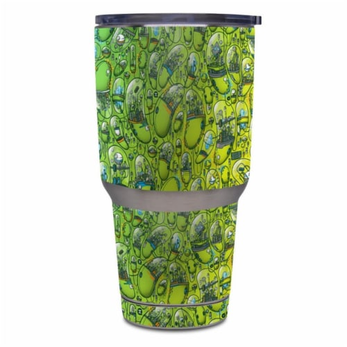 DecalGirl Y30-THEHIVE Yeti Rambler 30 oz Tumbler Skin - The Hive Perspective: front
