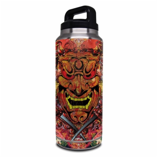 DecalGirl Y36-ACREST Yeti Rambler 36 oz Bottle Skin - Asian Crest Perspective: front