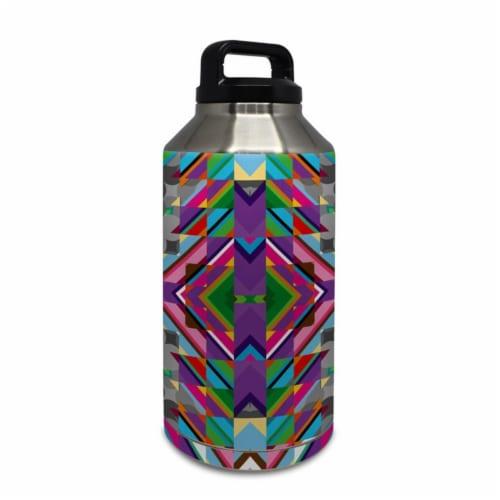 DecalGirl Y64-DERAILED Yeti Rambler 64 oz Bottle Skin - Derailed Perspective: front