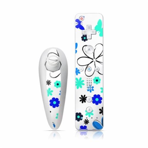 DecalGirl WIINC-JOSIESGARDEN Wii Nunchuk & Remote Skin - Josies Garden Perspective: front