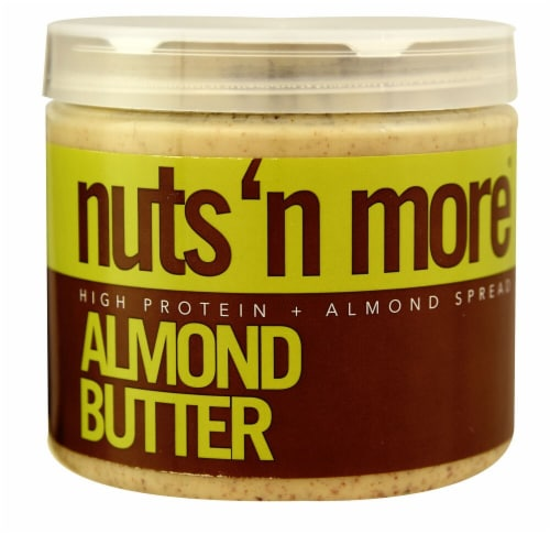 Nuts N More High Protein Almond Butter Perspective: front