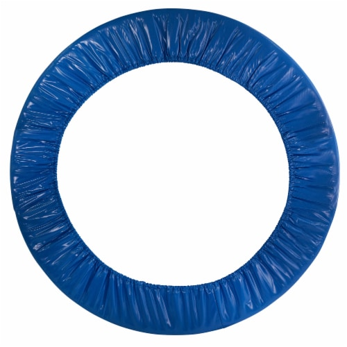 """40"""" Mini Round Trampoline Replacement Safety Pad (Spring Cover) for 6 Legs - Blue Perspective: front"""