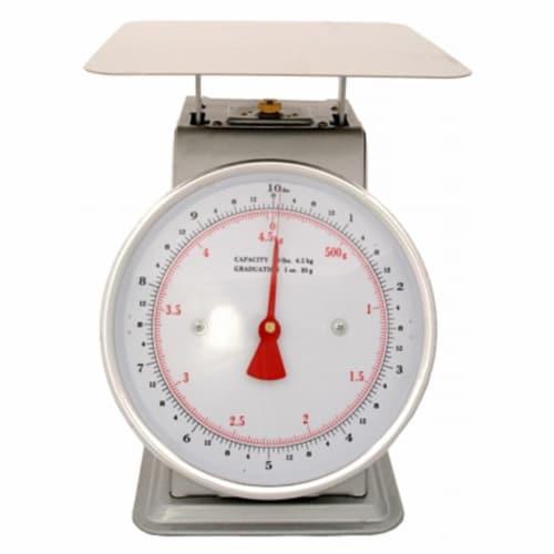 Zenport Industries AZD10 Dial Scale 10 lb -4.52 Kg Perspective: front
