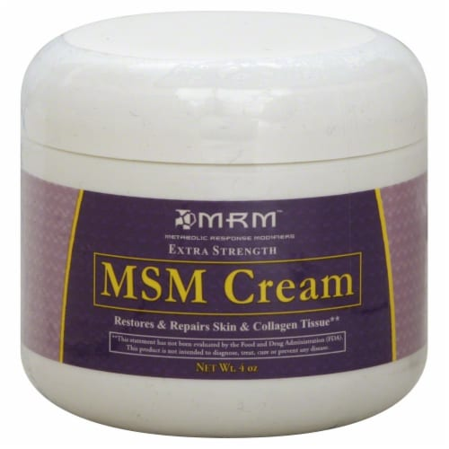 MRM Extra Strength MSM Cream Perspective: front