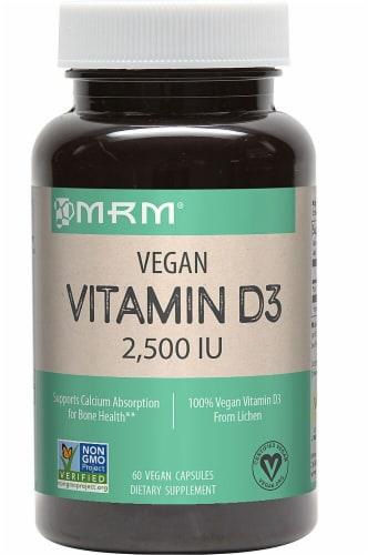 MRM Vegan Vitamin D3 2500 IU Perspective: front