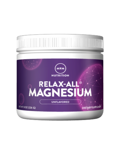 MRM Nutrition Relax-All Unflavored Magnesium Perspective: front