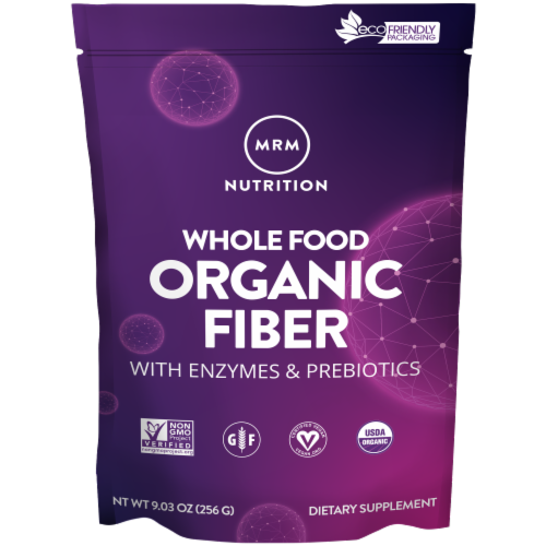 MRM Whole Food Organic Fiber Perspective: front