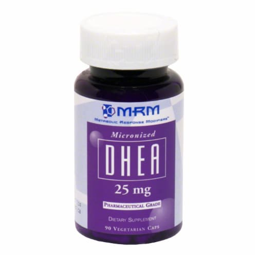 MRM Dhea 25mg Perspective: front