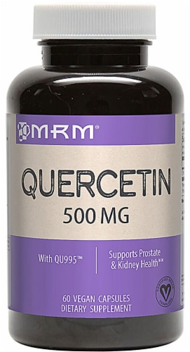 MRM Quercetin Capsules 500mg Perspective: front