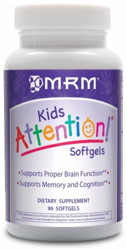 MRM Kids Attention Softgels Perspective: front