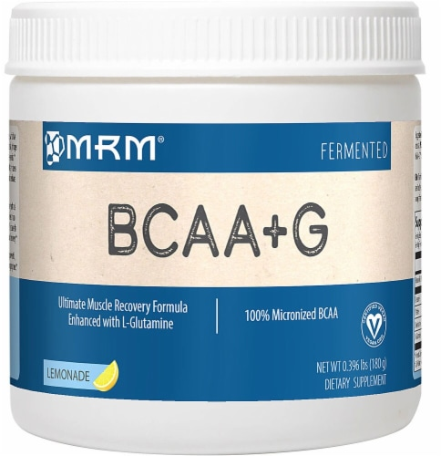 MRM  BCAA + G™   Lemonade Perspective: front