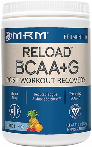 MRM  BCAA+G Reload™   Island Fusion Perspective: front