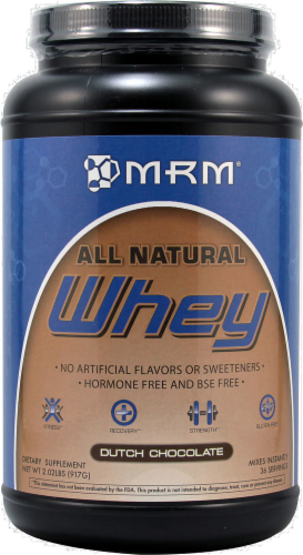 MRM Chocolate Whey Dutch Chocolate Protein Powder Perspective: front