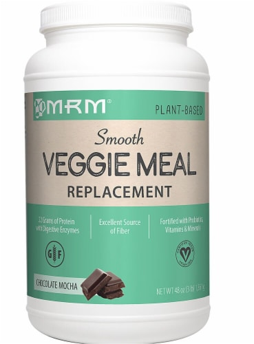 MRM  Veggie Meal Replacement   Chocolate Mocha Perspective: front