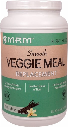 MRM  Smooth Veggie Meal Replacement   Vanilla Bean Perspective: front