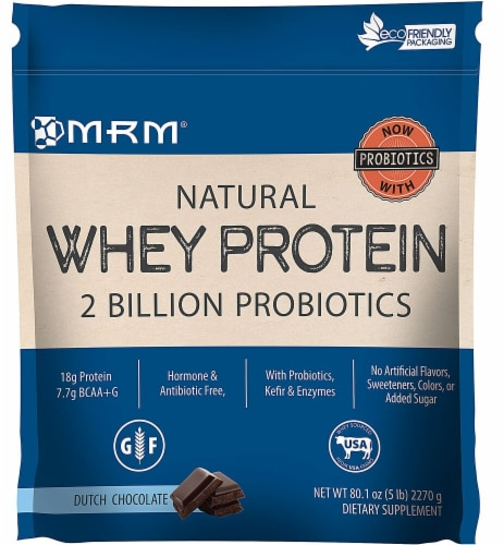 MRM  Metabolic Whey™ Protein   Dutch Chocolate Perspective: front