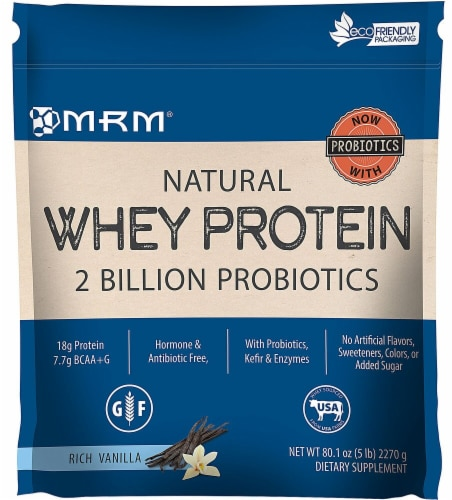 MRM  Metabolic Whey™ Protein   Rich Vanilla Perspective: front