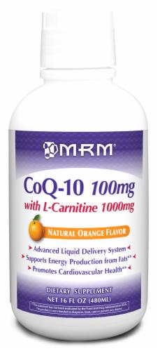 MRM Coq-10 W L-Carnitine Liq Perspective: front