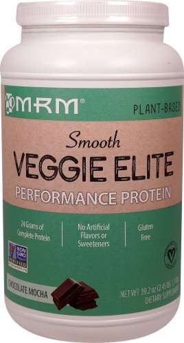 MRM Veggie Elite Performance Protein - Chocolate Mocha Perspective: front