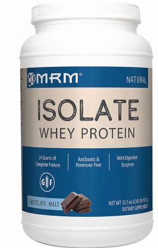 MRM  Whey Protein Isolate   Chocolate Malt Perspective: front