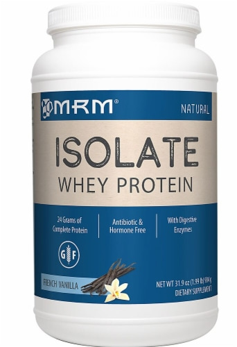 MRM  Whey Protein Isolate   French Vanilla Perspective: front