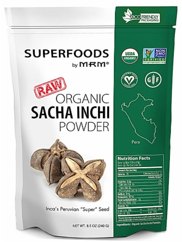MRM  Superfoods Raw Organic Sacha Inchi Powder Perspective: front