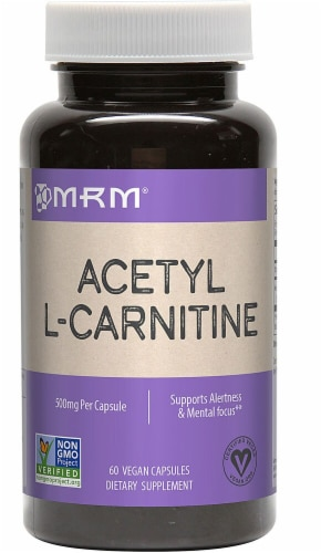 MRM Acetyl L-Carnitine 500mg Perspective: front