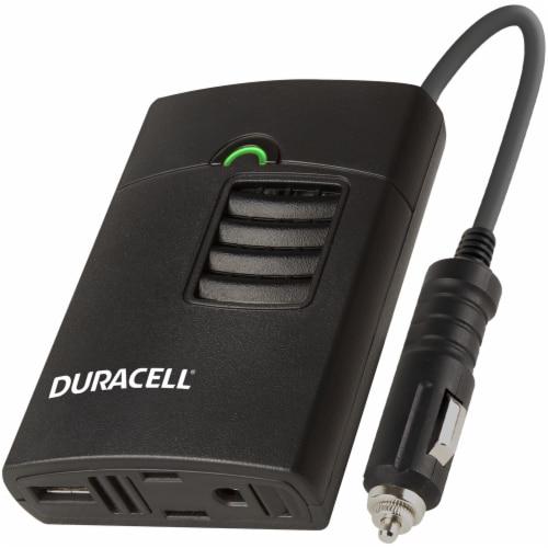 Duracell 150 Watt Portable Power Inverter Perspective: front