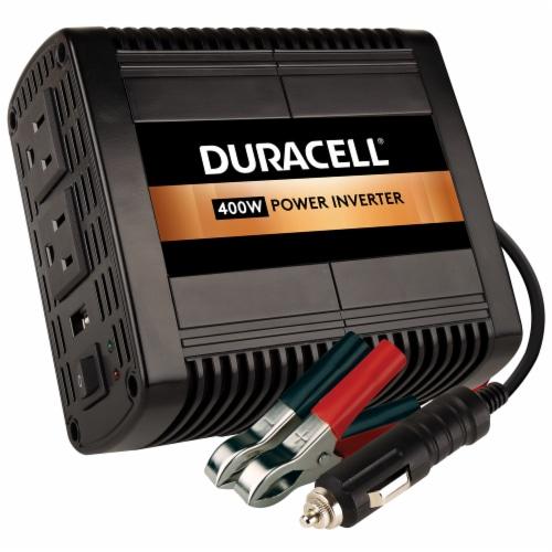 Duracell 400 Watt High Power Inverter Perspective: front