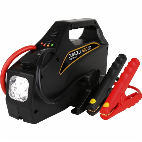 Duracell Portable Emergency Jumpstarter Perspective: front