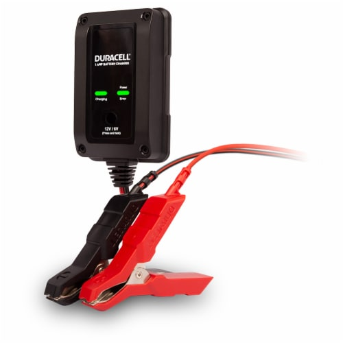 Duracell 1 Amp Battery Maintainer & Charger Perspective: front