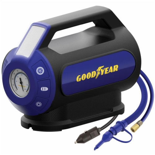 Goodyear Dual Flow Analog Inflator Perspective: front