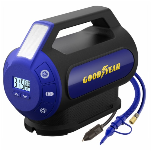 Goodyear Dual Flow Digital Inflator Perspective: front