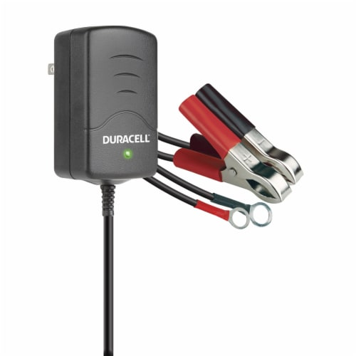 Duracell .8  Amp Battery Maintainer & Charger Perspective: front